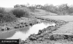 Loxwood, The River c.1955