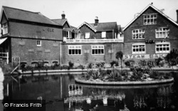 Loxwood, Village Bakery And Pond c.1950