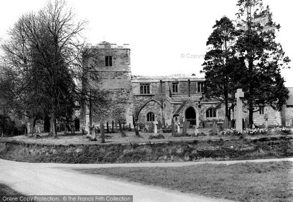 Lubenham, the Church c1960