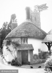 Luccombe, Cottage In The Village c.1965