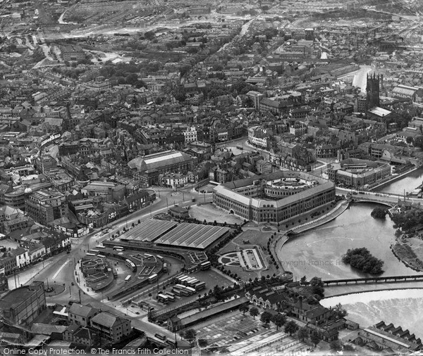 Photo of Lucerne, From The Air c.1955