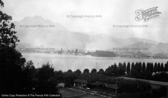 Photo of Lucerne, General View c.1935