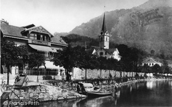 Hotel De La Poste c.1882, Lucerne
