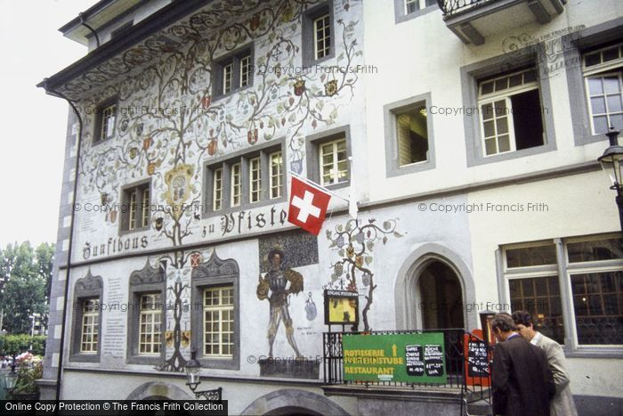Photo of Lucerne, Inn With Family Tree 1983
