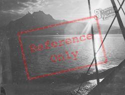 Lake And Mount Pilatus At Sunset c.1935, Lucerne