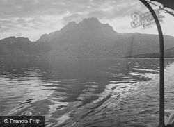 Lake And Mount Pilatus c.1935, Lucerne