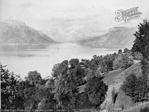 Photo of Lucerne, Lake Of Alpnach c.1860