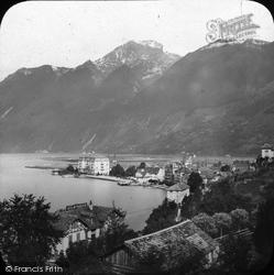 Lake Of Brunnen c.1880, Lucerne