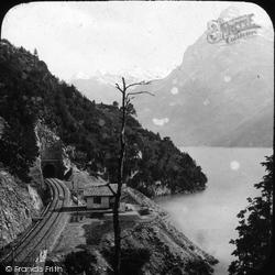 Lake Of Lucerne From Tell's Platte c.1880, Lucerne