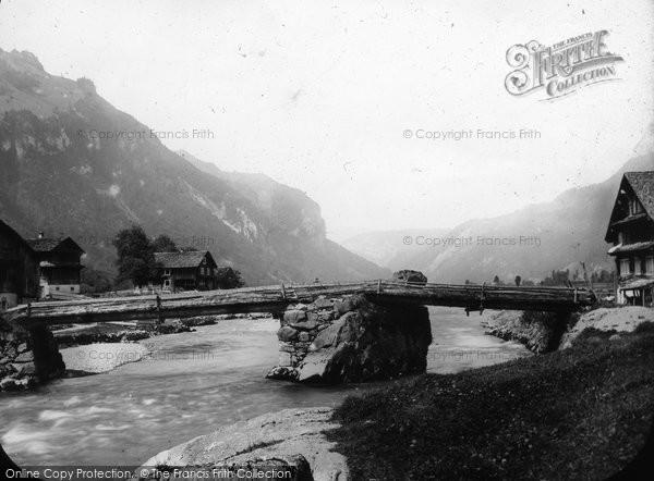 Photo of Lucerne, Muotta Thal c.1882