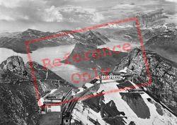 Pilatus, View Of Burgenstock, Rigi And Glarnisch c.1935, Lucerne