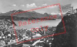 Rigi And Gutsch c.1935, Lucerne