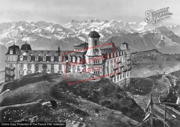 Photo of Lucerne, Rigi And The Bernese Alps c.1935
