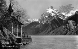 Tell's Chapel And Urirotstock c.1935, Lucerne