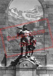 Tell's Monument, Altdorf c.1935, Lucerne