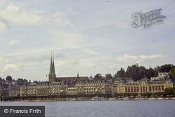The Cathedral From The Lake 1983, Lucerne