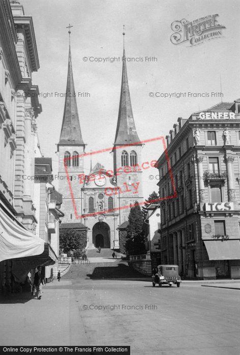 Photo of Lucerne, The Church c.1935