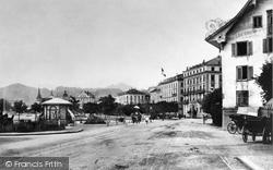 Lucerne, The Esplanade c.1882