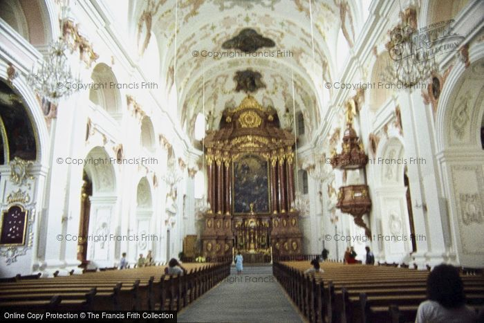 Photo of Lucerne, The Jesuite Church 1982