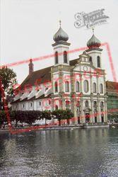 The Jesuite Church 1982, Lucerne