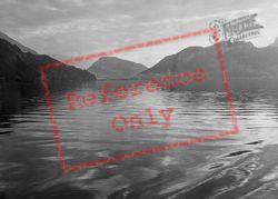 The Lake c.1935, Lucerne
