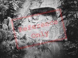 The Lion Monument 1938, Lucerne