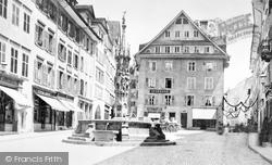 Weinmarket c.1870, Lucerne