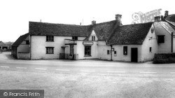 The Post Office And Stores c.1955, Luckington