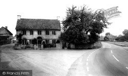 The Pump House And Lock-Up c.1955, Luckington
