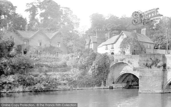 Photo of Ludford, At Ludford Bridge 1923