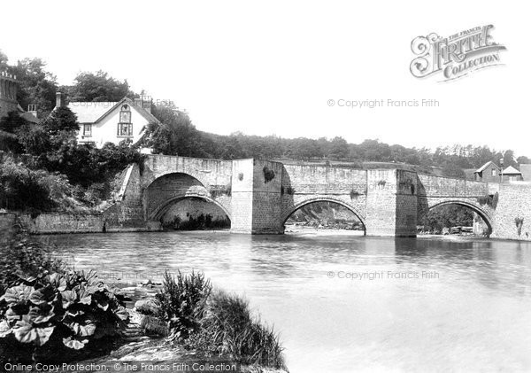 Photo of Ludford, Bridge 1896