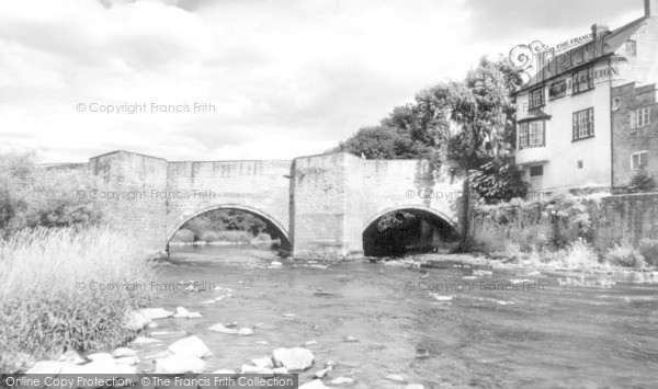 Photo of Ludford, Bridge c.1960
