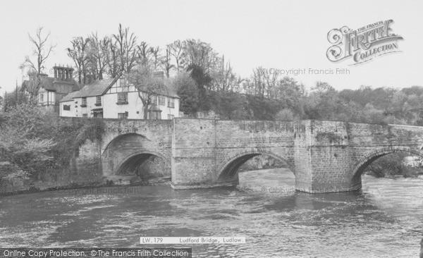 Photo of Ludford, Bridge c.1965