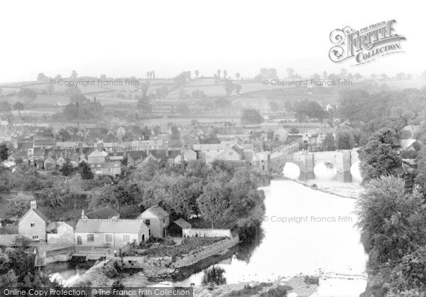 Photo of Ludford, Bridge From Whitcliffe 1892