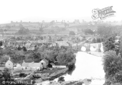 Bridge From Whitcliffe 1892, Ludford