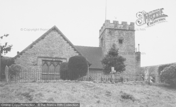 Photo of Ludford, Church c.1950