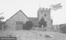 Church c.1950, Ludford