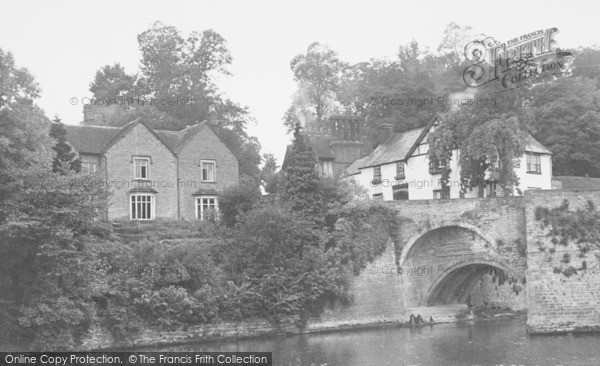 Photo of Ludford, Lodge c.1955