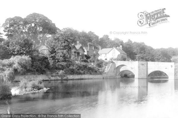 Photo of Ludford, Ludford Bridge 1892