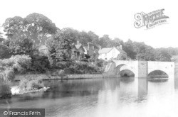 Ludford Bridge 1892, Ludford