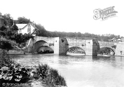 Ludford Bridge 1896, Ludford