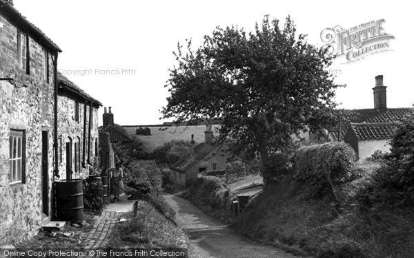 Photo of Ludford Magna, Fanny Hands Lane c.1955