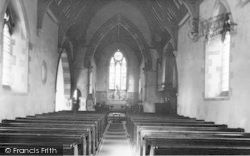 Ludford Magna, The Church Interior c.1955