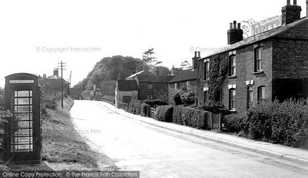 Photo of Ludford Magna, The Village c.1955