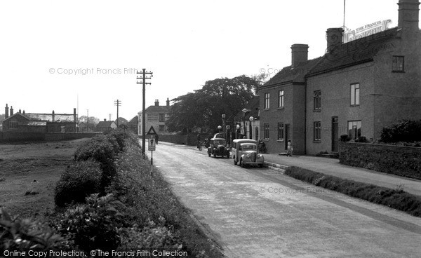 Photo of Ludford Magna, The Village c.1955