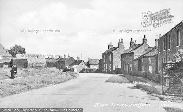 Photo of Ludford, Main Street c.1950