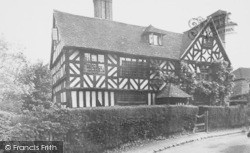 Old Bell House c.1955, Ludford