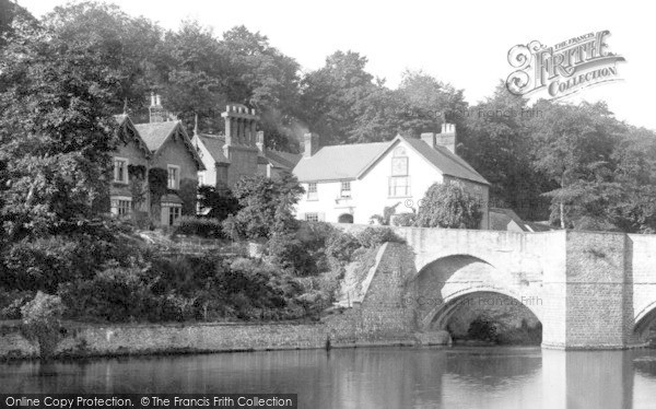 Photo of Ludford, Properties Beside Ludford Bridge 1892