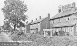 Salters Cottages c.1950, Ludford
