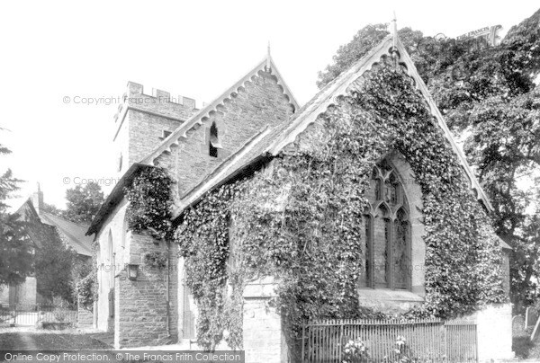 Photo of Ludford, The Church 1892